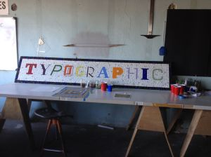 Tieton Mosaic's sampler