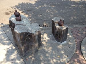 Another amusing sculpture from Ellensburg's public art program