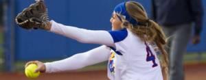 Kelsey Kessler pitching