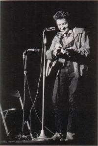 Bob Dylan at St. Lawrence University (public domain)