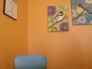 Little orange room