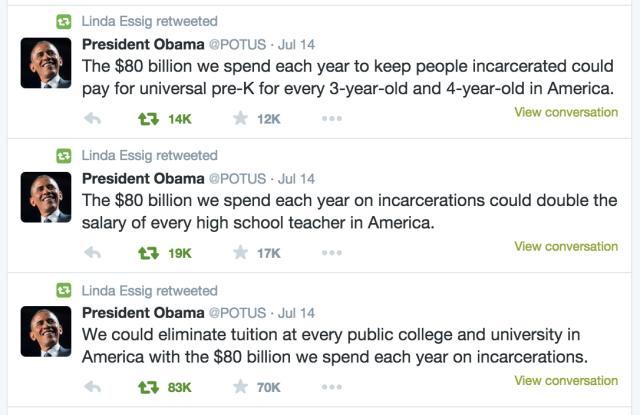 Obama 80B tweets