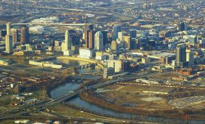 Downtown Columbus. Photo by Ron Reiring, CC 2.0.
