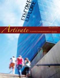 Artivate Cover