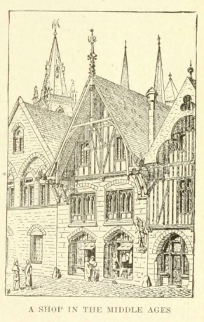 shop in the middle ages